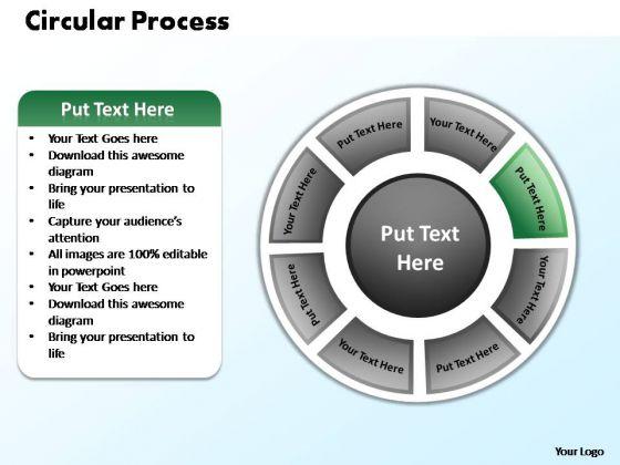 PowerPoint Designs Business Circular Process Ppt Slides