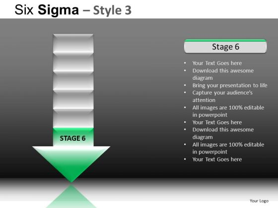 PowerPoint Designs Business Growth Six Sigma Ppt Layouts