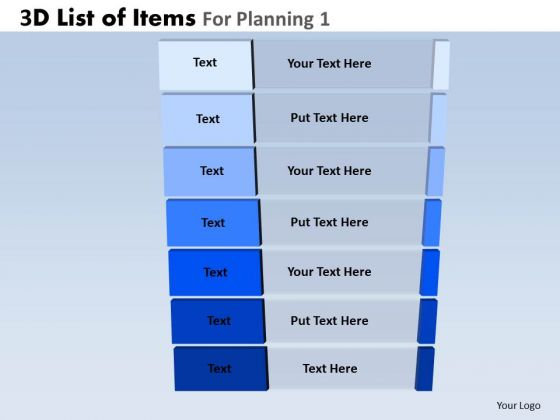 PowerPoint Designs Business Leadership Goals 3d Steps List Ppt Presentation