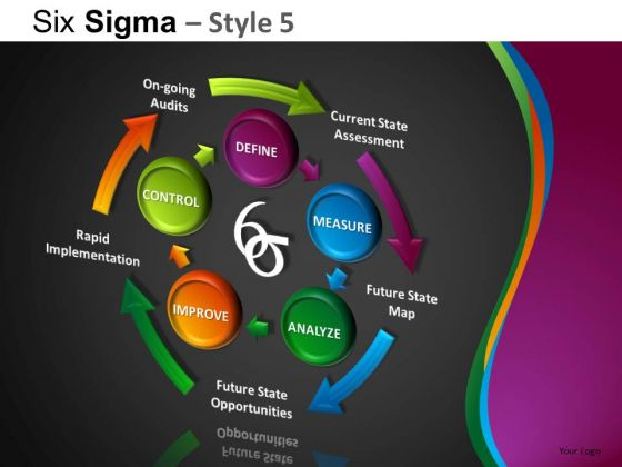 PowerPoint Designs Business Leadership Six Sigma Ppt Slide Designs