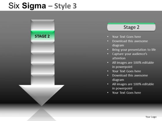 PowerPoint Designs Business Leadership Six Sigma Ppt Themes