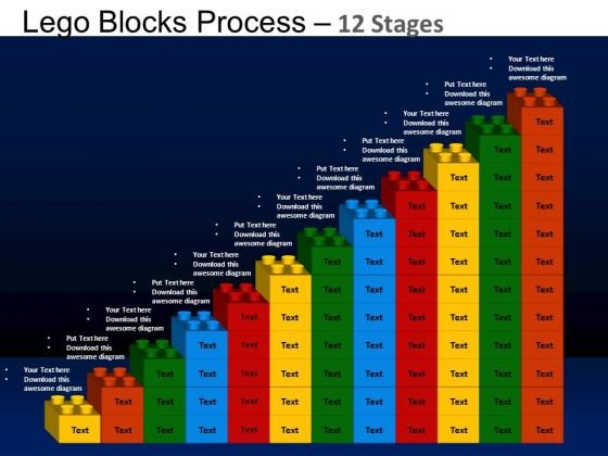 PowerPoint Designs Business Lego Blocks Ppt Themes