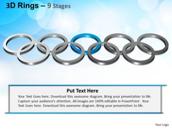 PowerPoint Designs Business Rings Ppt Slides