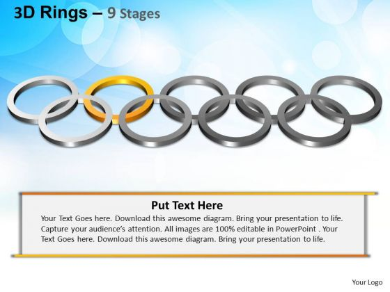PowerPoint Designs Business Rings Ppt Templates