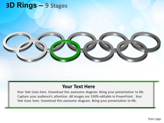 PowerPoint Designs Business Rings Ppt Themes