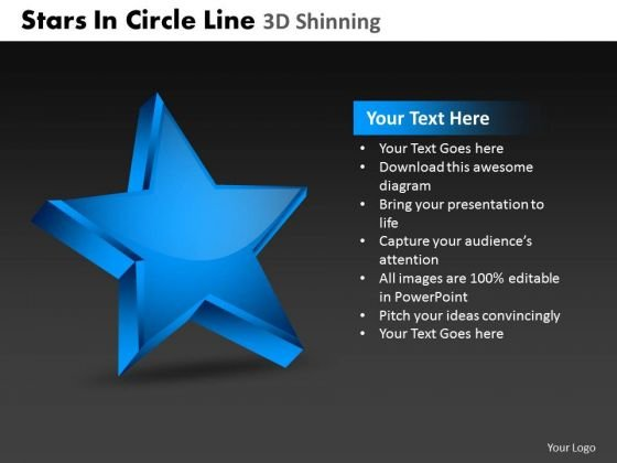 PowerPoint Designs Business Stars In Circle Ppt Backgrounds