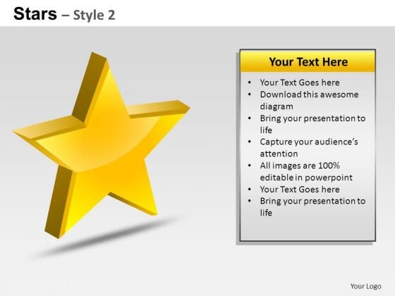 PowerPoint Designs Business Stars Ppt Process