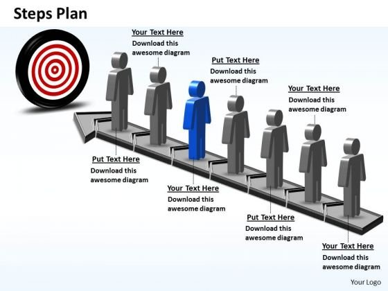 PowerPoint Designs Business Steps Plan 7 Stages Style 6 Ppt Themes