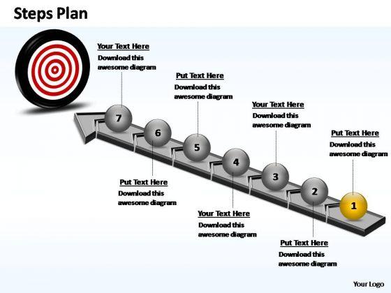 PowerPoint Designs Business Steps Plan Ppt Slide