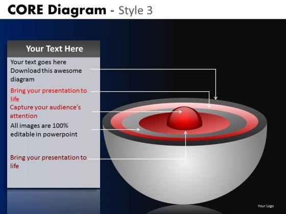 PowerPoint Designs Business Success Core Diagram Ppt Design
