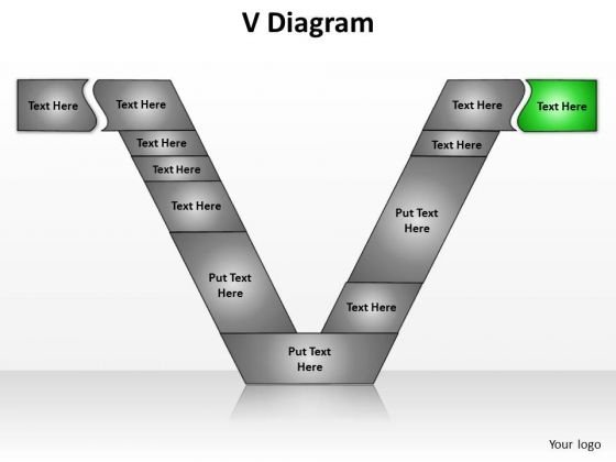 PowerPoint Designs Business V Diagram Ppt Templates