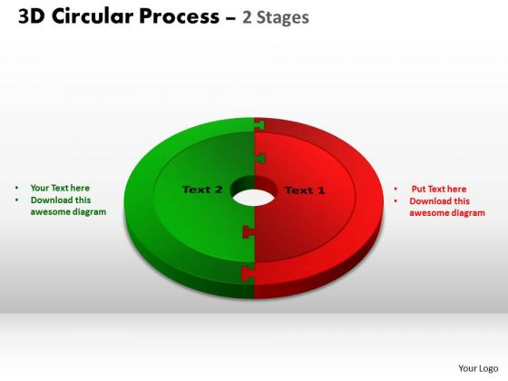 PowerPoint Designs Chart Circular Process Cycle Ppt Slide