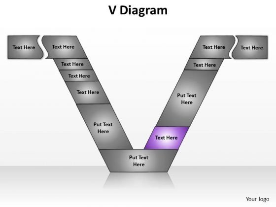 PowerPoint Designs Chart V Diagram Ppt Theme