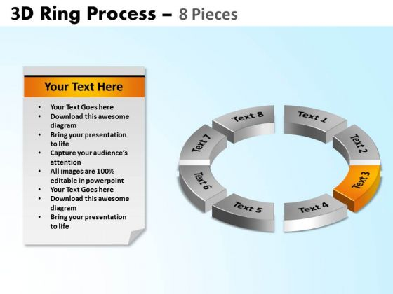 PowerPoint Designs Circle Chart Ring Process Ppt Design Slides