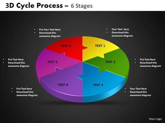 PowerPoint Designs Circle Process Cycle Process Ppt Layouts