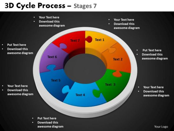 PowerPoint Designs Circle Process Cycle Process Ppt Slides