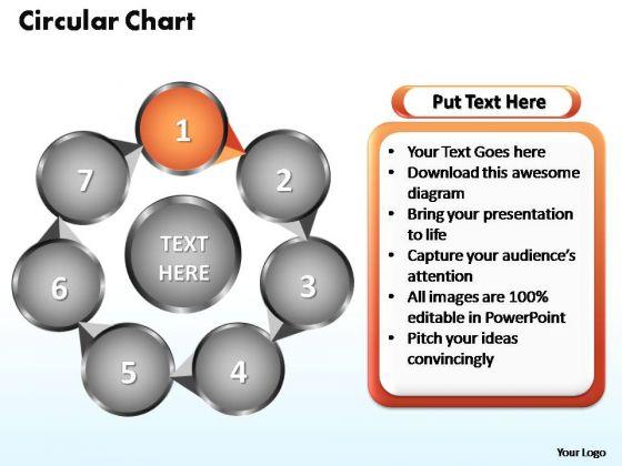 PowerPoint Designs Circular Flow Chart Ppt Template