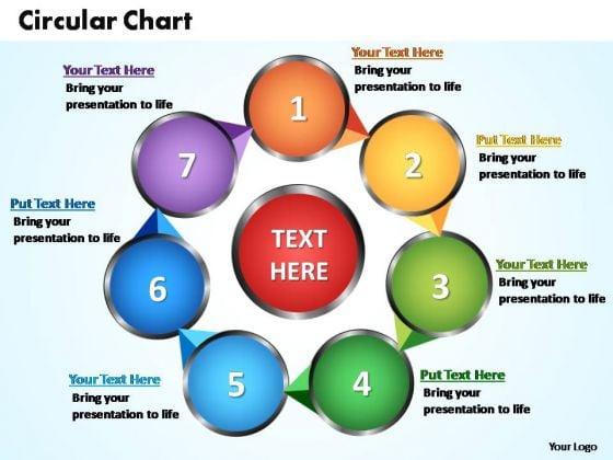 PowerPoint Designs Circular Flow Chart Ppt Templates