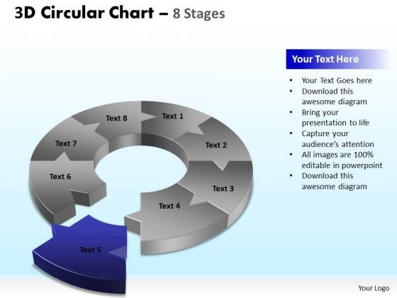 PowerPoint Designs Company Circular Chart Ppt Design
