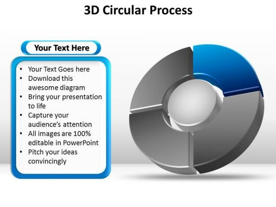 PowerPoint Designs Company Circular Process Ppt Themes