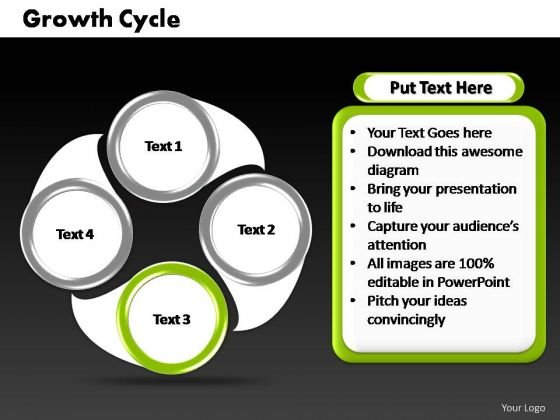 PowerPoint Designs Company Cycle Process Ppt Slide Designs