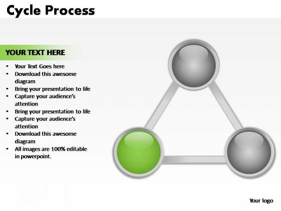PowerPoint Designs Company Cycle Process Ppt Templates