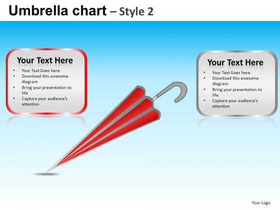 PowerPoint Designs Company Designs Vision Umbrella Chart Ppt Slidelayout