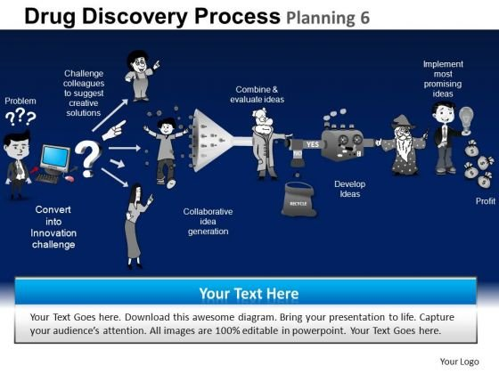 PowerPoint Designs Company Drug Discovery Ppt Slides