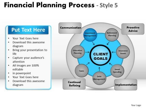 PowerPoint Designs Company Financial Planning Ppt Layout