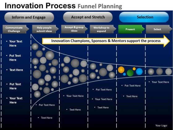 PowerPoint Designs Corporate Designs Targets Funnel Planning Ppt Slide Designs