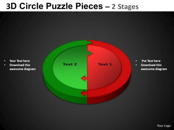 PowerPoint Designs Cycle Process Circle Puzzle Diagram Ppt Design Slides