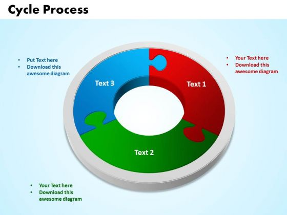 PowerPoint Designs Cycle Process Success Ppt Backgrounds
