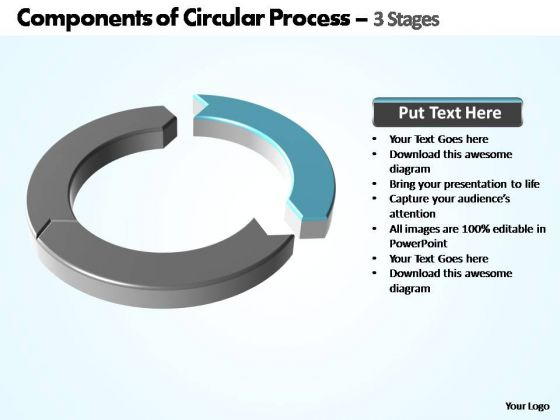PowerPoint Designs Download Components Of Circular Ppt Slides