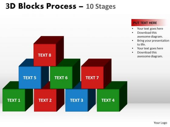 PowerPoint Designs Education Blocks Process Ppt Presentation