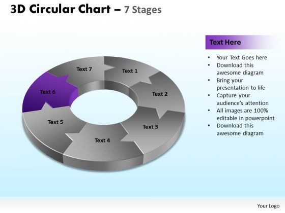PowerPoint Designs Education Circular Chart Ppt Themes