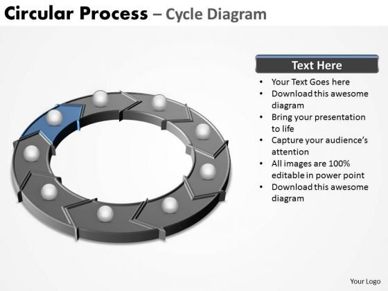 PowerPoint Designs Education Circular Process Ppt Slides
