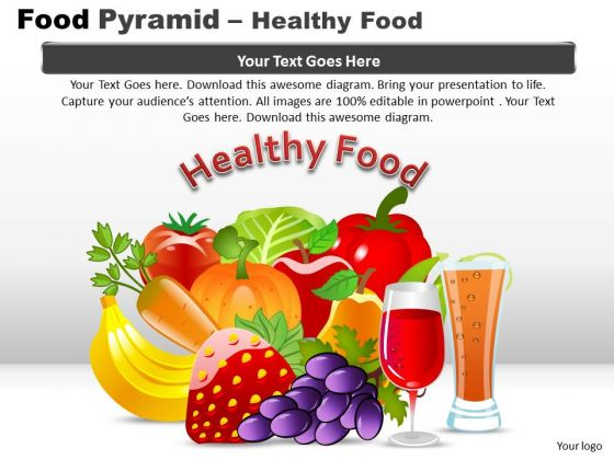 PowerPoint Designs Education Food Pyramid Ppt Designs