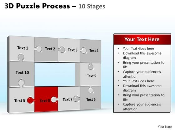 PowerPoint Designs Education Puzzle Process Ppt Theme