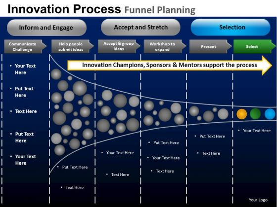 PowerPoint Designs Executive Teamwork Mission Funnel Planning Ppt Presentation Designs