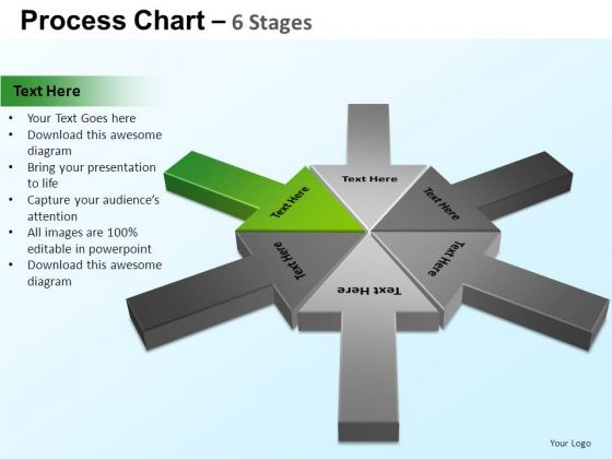 PowerPoint Designs Global Process Chart Ppt Designs