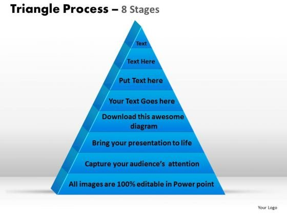 PowerPoint Designs Graphic Triangle Process Ppt Slide