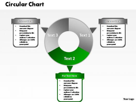 PowerPoint Designs Growth Circular Chart Ppt Template