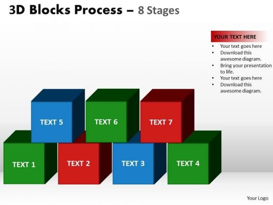 PowerPoint Designs Leadership Blocks Process Ppt Backgrounds