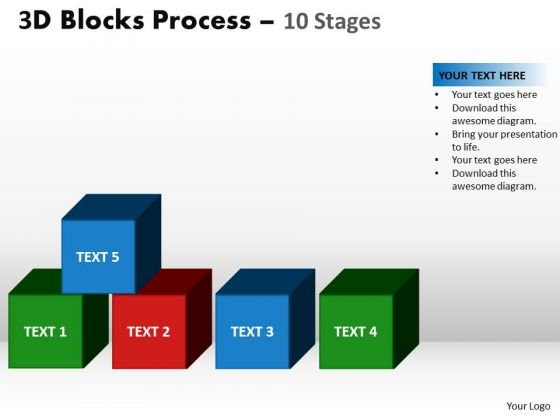 PowerPoint Designs Leadership Blocks Process Ppt Theme