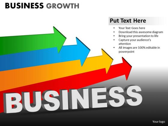 PowerPoint Designs Marketing Business Growth Ppt Slides