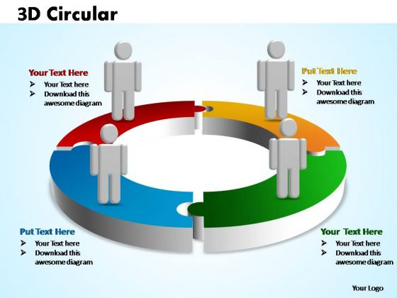 PowerPoint Designs Marketing Circular Ppt Designs