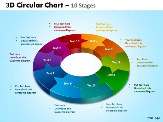 PowerPoint Designs Marketing Circular Ppt Process