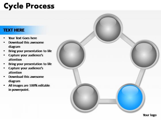PowerPoint Designs Marketing Cycle Process Ppt Templates