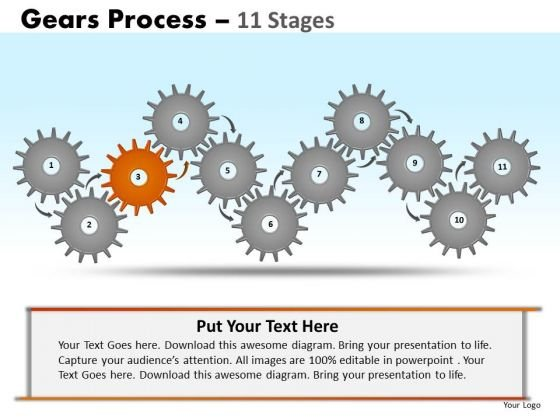 PowerPoint Designs Marketing Gears Ppt Designs