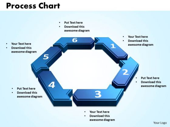 PowerPoint Designs Process Chart Strategy Ppt Slide